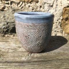 Beaker. 6cm diam. 6cm high  £12