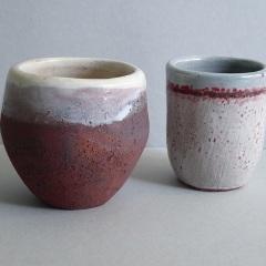 Two beakers. 7cm high  £10 each