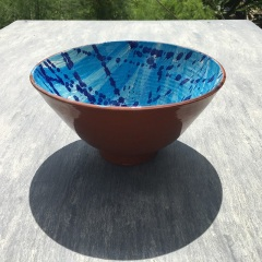 Bowl 21 cm diam. by 11 cm height  £15