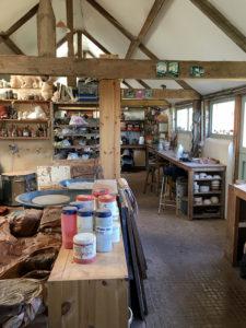 the pottery interior